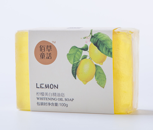 柠檬美白精油皂